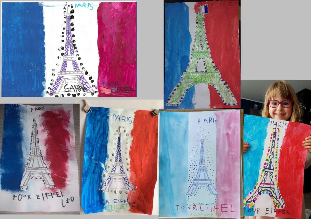Tour Eiffel Ecole Maternelle D Application Chevreul